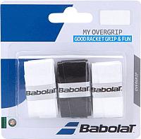 Овергрип Babolat My Overgrip X3 / 653045-145 (3шт, черный/белый) -