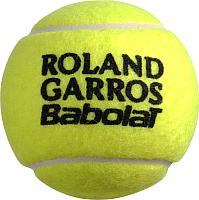 Набор теннисных мячей Babolat French Open All Court / 502034 (4шт, желтый) -
