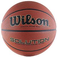 Баскетбольный мяч Wilson Solution FIBA VTB24 / WTP000265 (размер 7) -