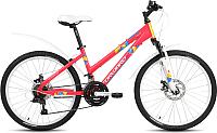 Велосипед Forward Iris 24 2.0 Disc 2019 / RBKW96N4P002 (розовый матовый) -