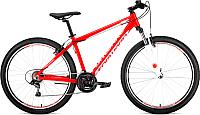 Велосипед Forward Apache 27.5 1.0 2019 / RBKW9M67Q010 (15, красный/белый) -