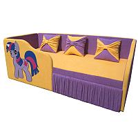 Кровать-тахта детская М-Стиль Рио (левая) -
