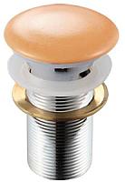 Выпуск (донный клапан) Melana MLN-TB5 (персиковый) -