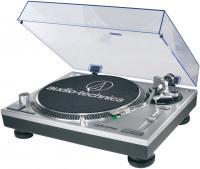 Проигрыватель виниловых пластинок Audio-Technica AT-LP120-USBHS10 (серебристый) -