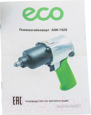 Пневмогайковерт Eco AIW-742S