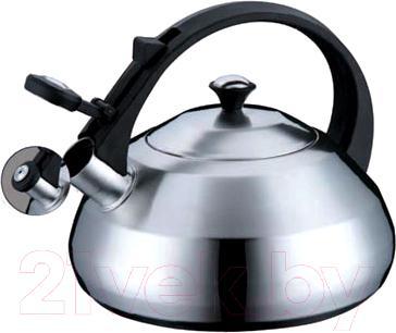 Купить Чайник со свистком Peterhof, PH-15534, Китай, черный