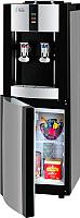 Кулер для воды Ecotronic V21-LE со шкафчиком (серебристый/черный) -