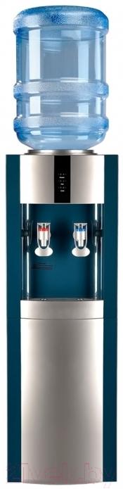 Купить Кулер для воды Ecotronic, V21-LE со шкафчиком (морская волна/серебристый), Китай