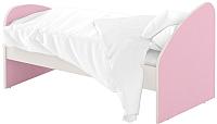 Односпальная кровать Славянская столица ДУ-КО14-4 (белый/розовый) -