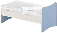 Односпальная кровать Славянская столица ДУ-КО16-13 (белый/синий) -