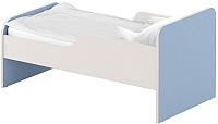 Односпальная кровать Славянская столица ДУ-КО14-11 (белый/синий) -