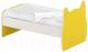 Односпальная кровать Славянская столица ДУ-КО16-9 (белый/желтый) -