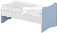 Односпальная кровать Славянская столица ДУ-КО14-13 (белый/синий) -