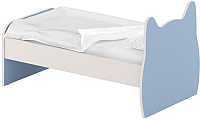 Односпальная кровать Славянская столица ДУ-КО16-9 (белый/синий) -