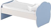 Односпальная кровать Славянская столица ДУ-КО12-6 (белый/синий) -