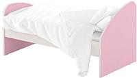 Односпальная кровать Славянская столица ДУ-КО16-4 (белый/розовый) -