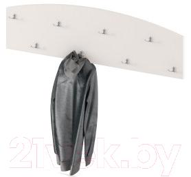 Купить Вешалка для одежды Славянская столица, ДУ-СМ18-2 (белый), Беларусь, ЛДСП