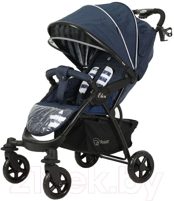 Купить Детская прогулочная коляска Rant, Elen Trends / RA001 (lines blue), Китай