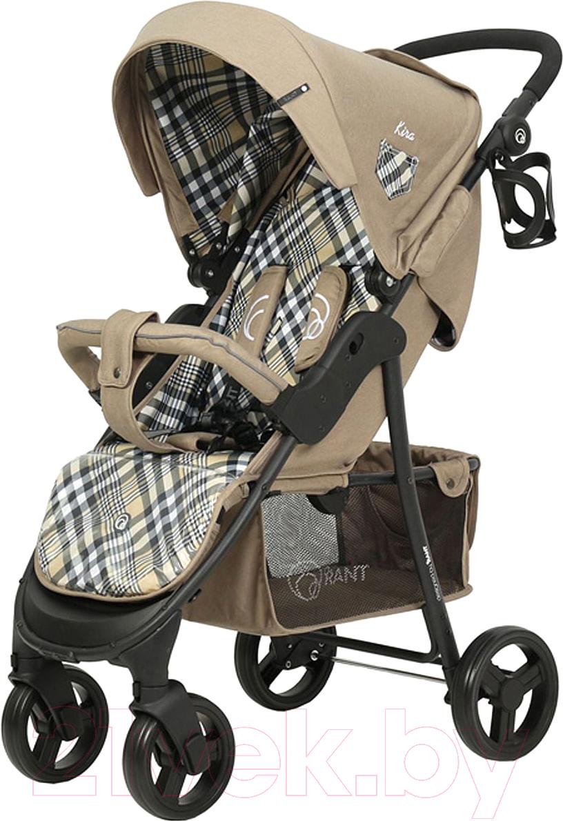 Купить Детская прогулочная коляска Rant, Jazz / RA004 (scotland beige), Китай