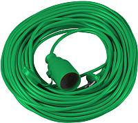 Удлинитель Vorel 72455 (10м, зеленый) -