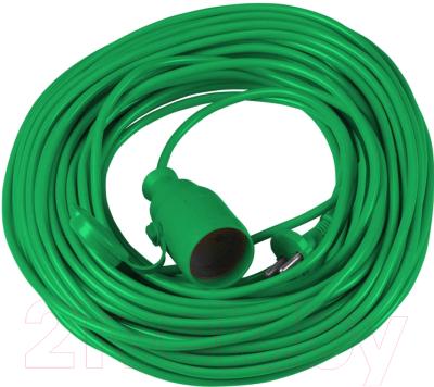 Удлинитель Vorel 72455 (10м, зеленый)
