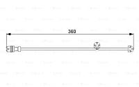 Датчик износа тормозных колодок Bosch 1987473023 -