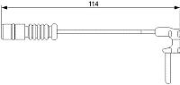 Датчик износа тормозных колодок Bosch 1987473011 -