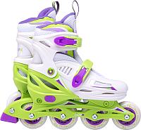 Роликовые коньки Ridex Cricket (р-р 35-38, зеленый) -