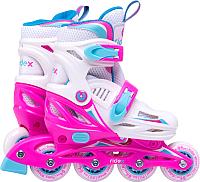 Роликовые коньки Ridex Cricket (р-р 35-38, розовый) -