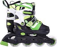 Роликовые коньки Ridex Joker (р-р 31-34, зеленый) -