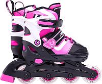Роликовые коньки Ridex Joker (р-р 31-34, розовый) -