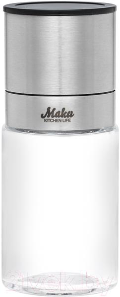 Купить Мельница для специй Maku Kitchen Life, 290017, Китай, серебристый, нержавеющая сталь