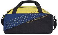 Спортивная сумка Grizzly TU-910-2 (черный/коричневый) -