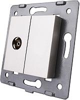 Розетка Livolo VL-C7-1V-15 (серый) -