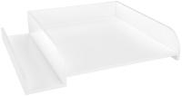 Рамка для пеленания Polini Kids Simple 610 с полкой / 0001847.9 (белый) -