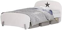 Односпальная кровать Polini Kids Mirum 1910 (белый) -