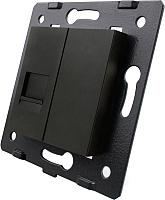 Розетка Livolo VL-C7-1C-12 (черный) -