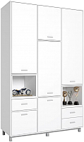 Шкаф Polini Kids Mirum 2330 трехсекционный (белый) -
