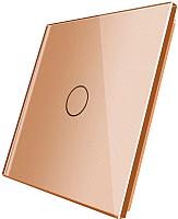 Лицевая панель для выключателя Livolo BB-C7-C1-13 (золото) -