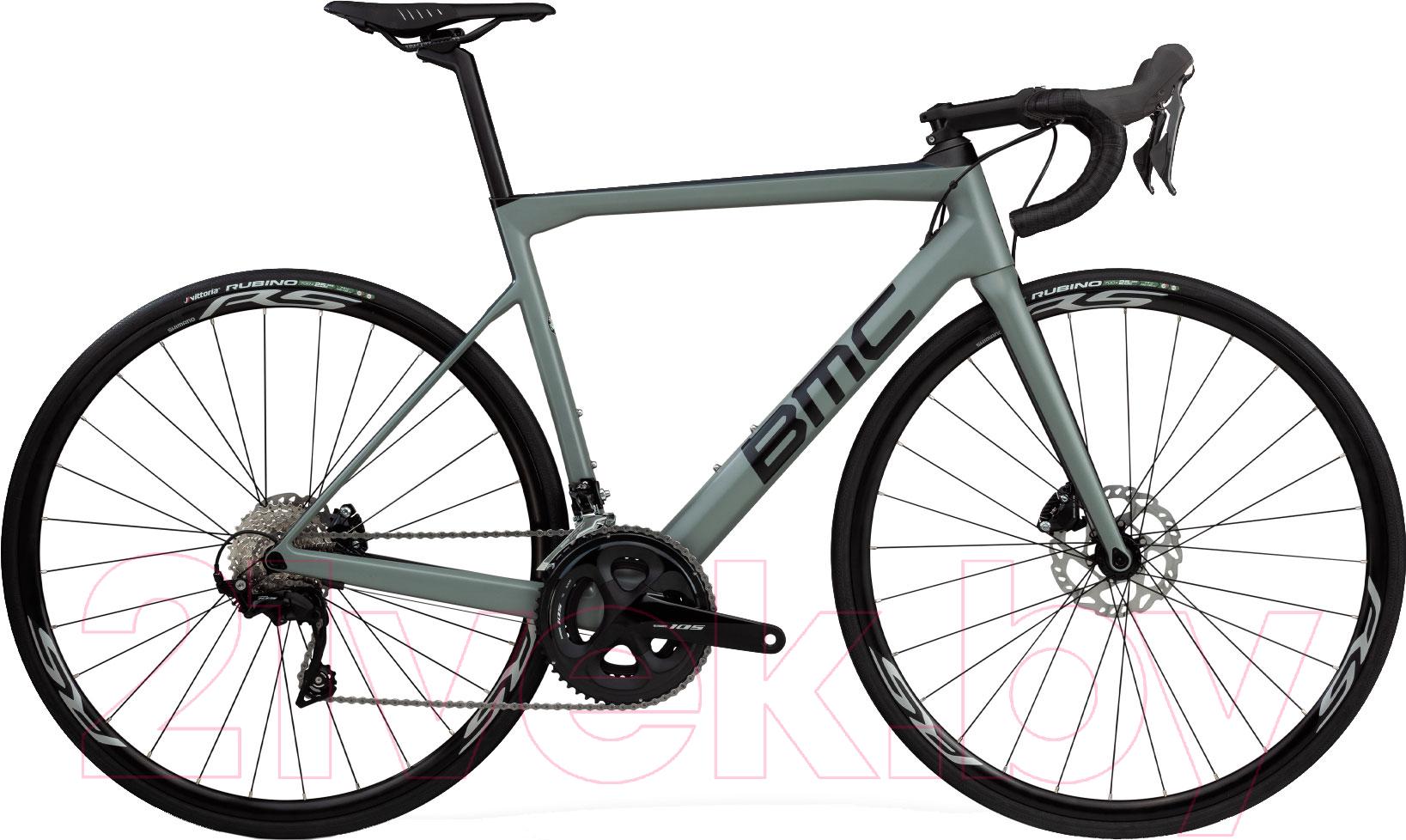 Купить Велосипед BMC, Teammachine SLR02 Disc Three 105 2019 / SLR02DiscThree (51, серый/черный/серый), Швейцария