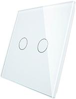 Лицевая панель для выключателя Livolo BB-C7-C2-11 (белый) -
