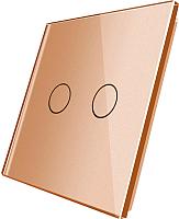 Лицевая панель для выключателя Livolo BB-C7-C2-13 (золото) -