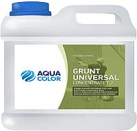 Грунтовка AquaColor Grunt Universal Concentrate 1:3 (1л) -