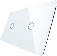 Лицевая панель для выключателя Livolo BB-C7-C1/C1-11 (белый) -