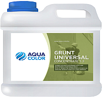Грунтовка AquaColor Grunt Universal Concentrate 1:3 (10л) -
