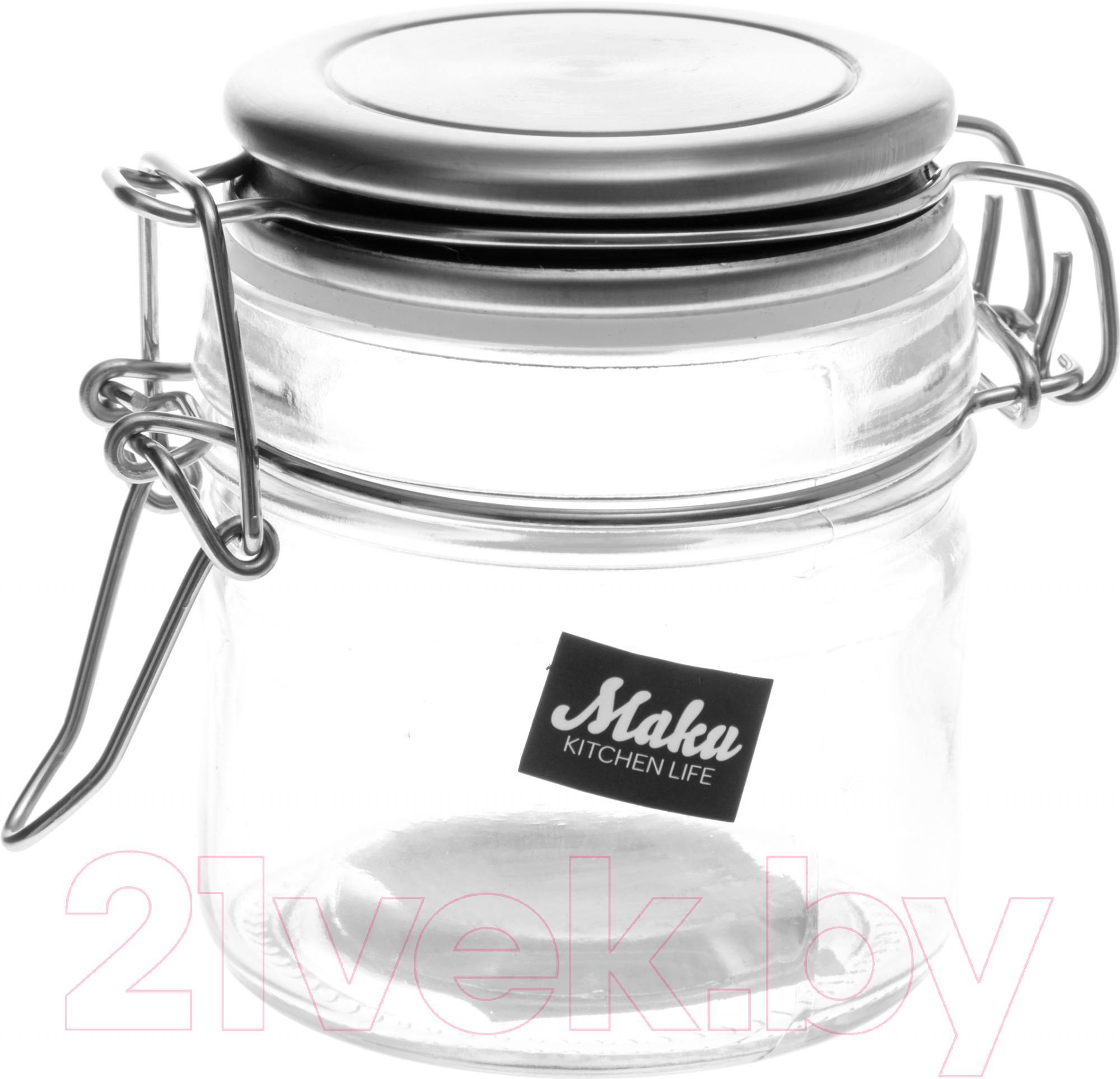Купить Емкость для хранения Maku Kitchen Life, 270575, Китай, стекло