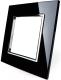 Рамка для выключателя Livolo BB-C7-SR-12 (черный) -