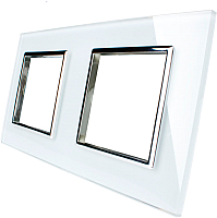 Рамка для выключателя Livolo BB-C7-SR/SR-11 (белый) -