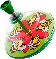 Игрушка детская Pelican Юла / 0203 (пчелка) -