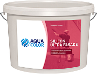 Краска AquaColor Silicon Ultra Fasade (14кг) -